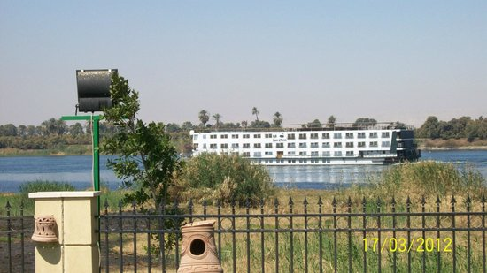 Jolie Ville Hotel & Spa - Kings Island, Luxor: nile cruiseboat