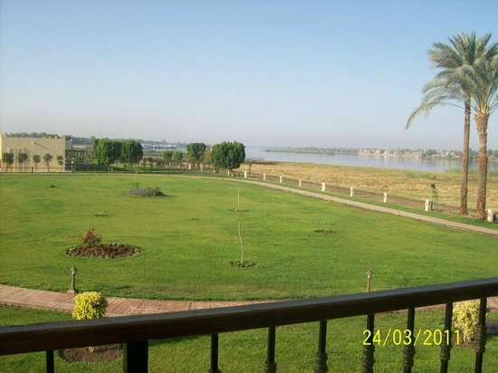Jolie Ville Hotel & Spa - Kings Island, Luxor: another room view of the nile