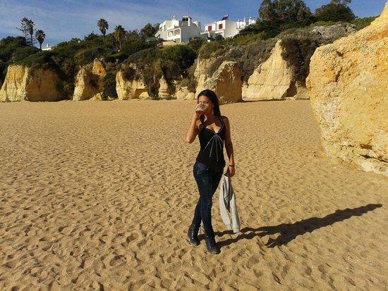 Auramar Beach Resort : Preciosa playa
