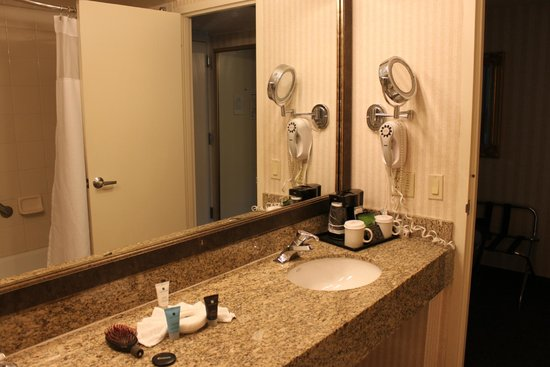 Crowne Plaza Hotel San Diego - Mission Valley: Coffemaker and hairblower provided #6137