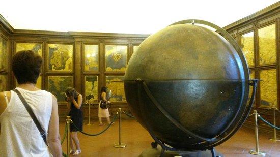Museo di Palazzo Vecchio : Sala Carte Geografiche