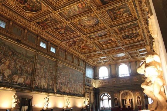 Museo di Palazzo Vecchio : Decke von Vasari