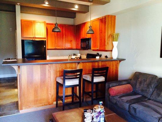 Westin Bear Mountain Victoria Golf Resort & Spa: Full Kitchen