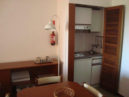 Dom Pedro Portobelo: A mini cozinha