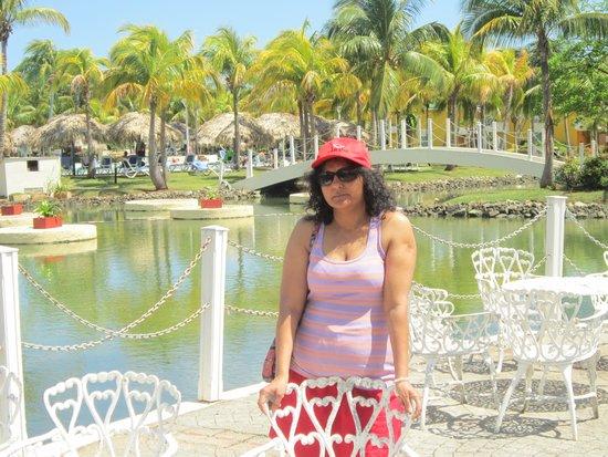 Melia Las Antillas: Hotel private Garden near Pool