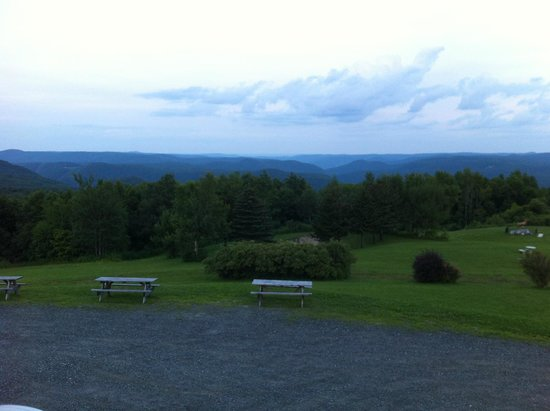 Whitcomb Summit Retreat : The view from our room speaks for itself