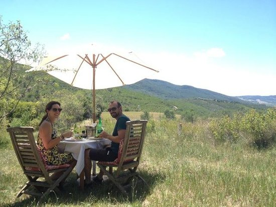 Masia Mas Xipres: Romantische lunch