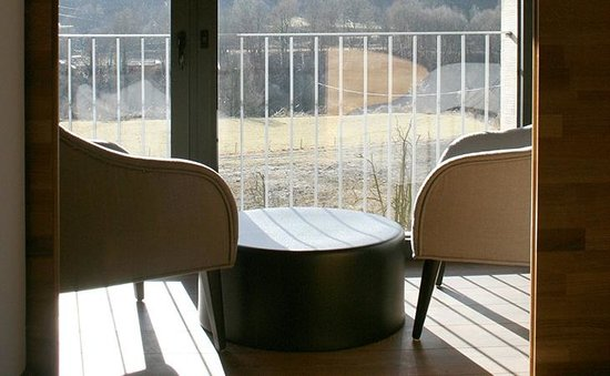Les Planes del Grau: Sala de estar privada.