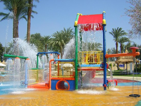 Jolie Ville Hotel & Spa - Kings Island, Luxor: childrens play area by pool