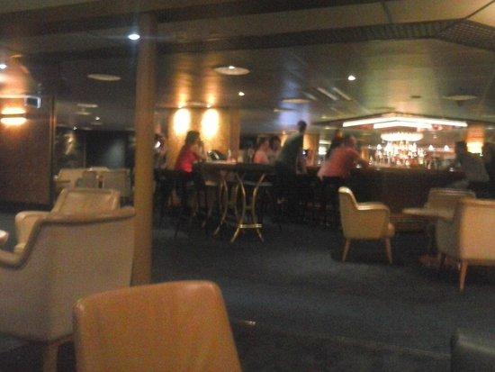SS Rotterdam: Lounge bar