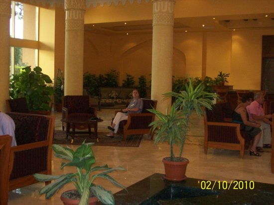 Jolie Ville Hotel & Spa - Kings Island, Luxor : part of reception