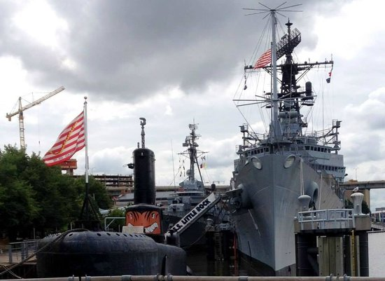 Buffalo & Erie County Naval and Military Park: The ships