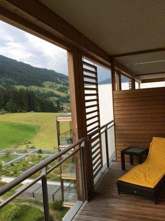 Kempinski Hotel Das Tirol: Balcony #2 of deluxe suite 625