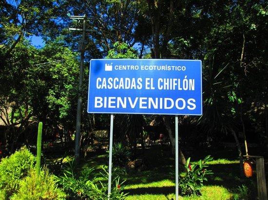 Cascada El Chiflon: Entrada