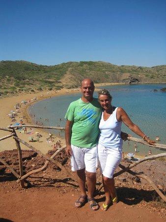 Cala Blanca Sun Hotel: spiaggia cavalleria la piu bella per me...