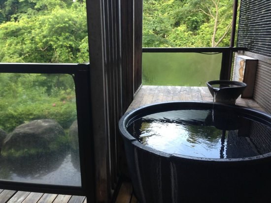 Okunoin Hotel Tokugawa: 客室露天風呂