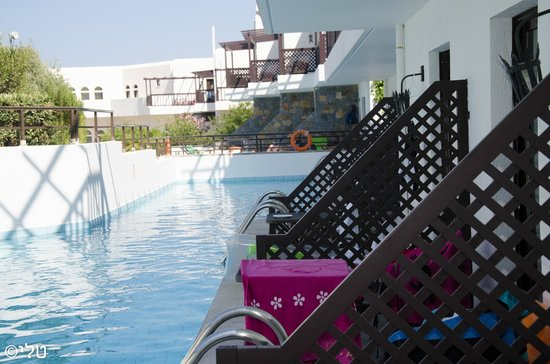 Hersonissos Maris Hotel and Suites : room with a privet pool
