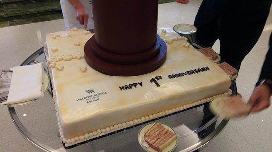 Waldorf Astoria Ras Al Khaimah: Happy Birthday WA