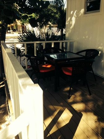 Atlantic Bay Resort: our porch had great shade
