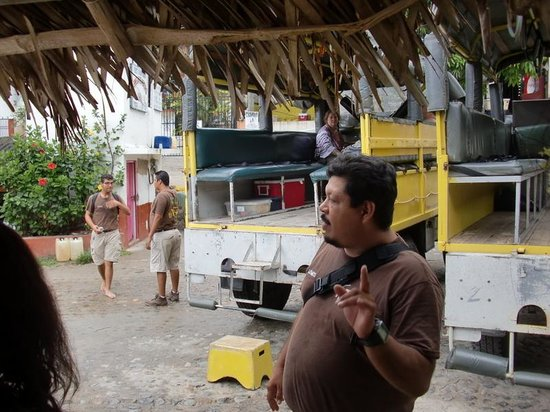 Vallarta Adventures: Juan Carlos in front of the truck (Hidden Mexico)