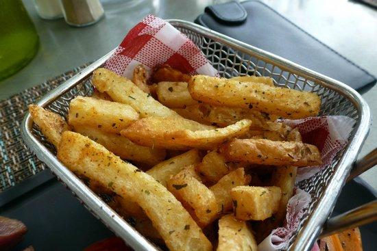 Le Bercail : Miam les frites !