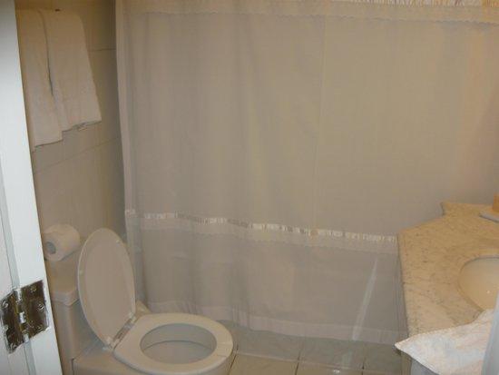 Banheiro limpo fotografía de Hotel Neruda, Santiago  TripAdvisor -> Banheiro Feminino Limpo