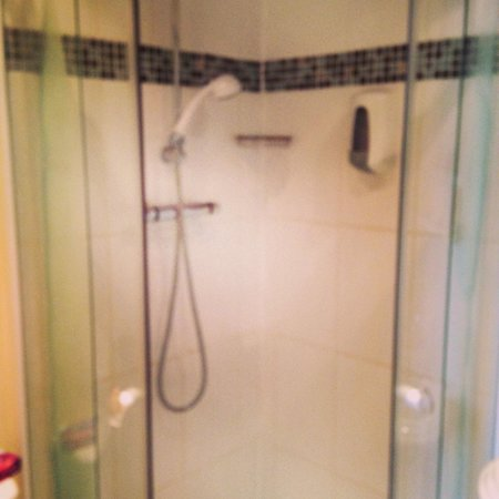 Ascot House Hotel: Shower