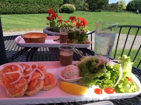Savour in the Garden : Perfect Lunch