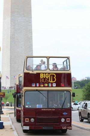 Washington Plaza Hotel: Le BIG BUS  magique pour WASHINGTON (RED)