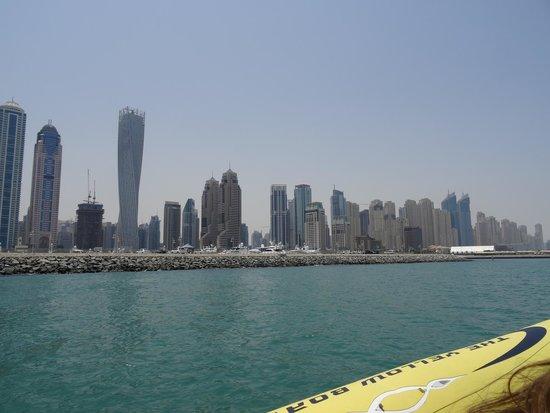 The Yellow Boats : Vue de la côte