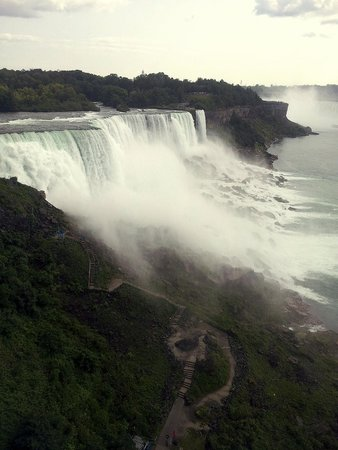 Maid of the Mist: from the observation tower