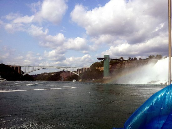 Maid of the Mist: on the boat heading back