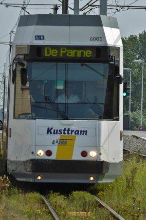 The Kusttram: Moderne klimatisierte Züge