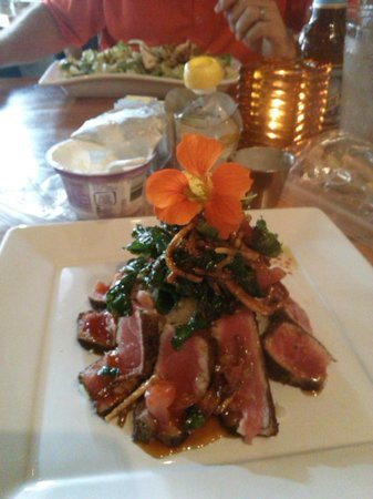 The Square Root : Five Spice Ahi Tuna