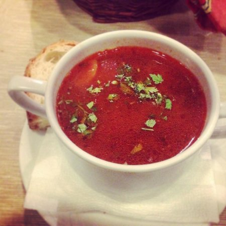 Horvath Etterem: Real hungarian goulash. Amazing