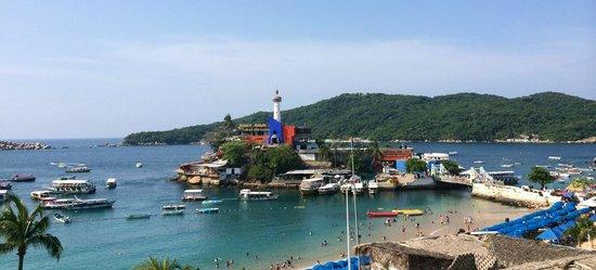 Hotel Acamar Acapulco: Vista