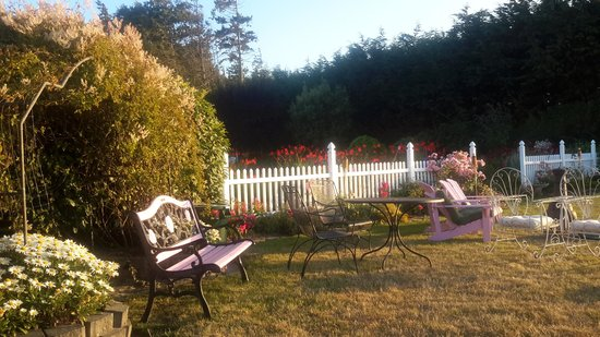 Sea Cliff Gardens Bed & Breakfast: Sit here for the best views