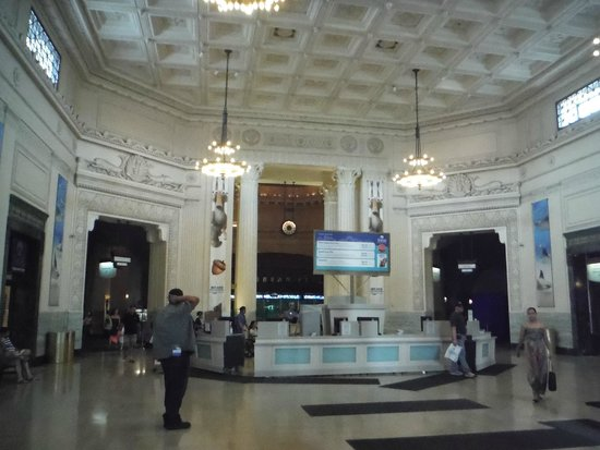 Shedd Aquarium : Entry Way inside Shedd's  and the Will Call desk