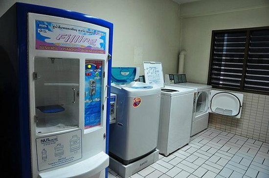 Starry Place: Laundry room