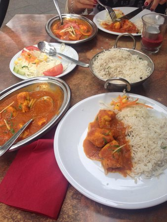 Indisches Restaurant Maharadscha : Chicken curry, and it was good!!