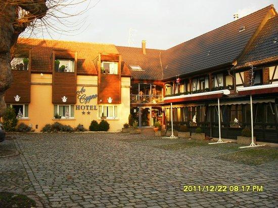 Au Cygne : hotel