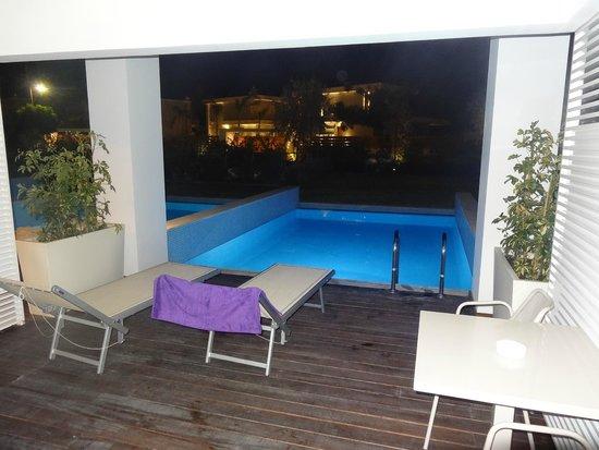 Princess Andriana Resort & Spa : Private Pool