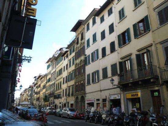 Hotel Borgo : Улица, на которой расположен отель