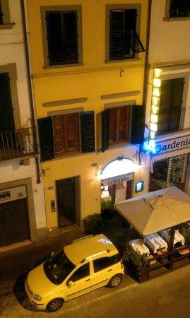Hotel Borgo: Вид из окна
