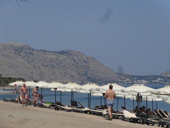 Princess Andriana Resort & Spa : The hotel's beach