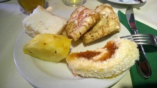 Appia Hotel Residences: Завтрак