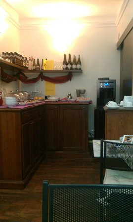 Hotel Borgo : Столовая