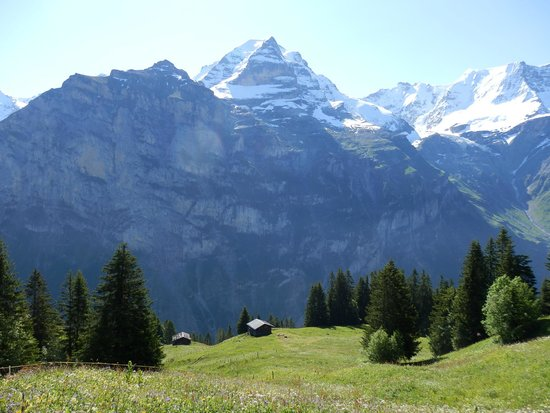 Hotel Eiger: Views from the hotel