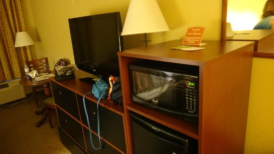 Comfort Inn Amish Country: TV, Microwave, and Refrigerator