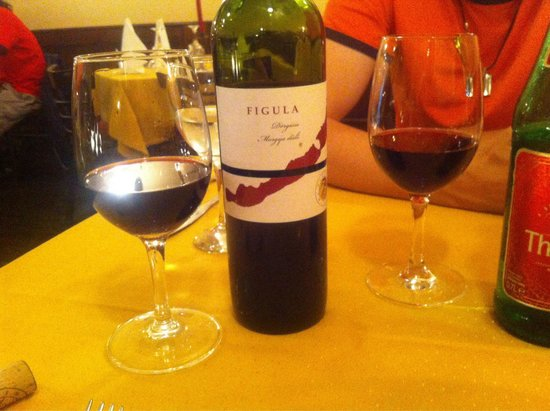 Spinoza Cafe : Hungarian wine served